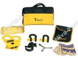 Набор аксессуаров (блок, шаклы, стропа, крюк, перчатки)