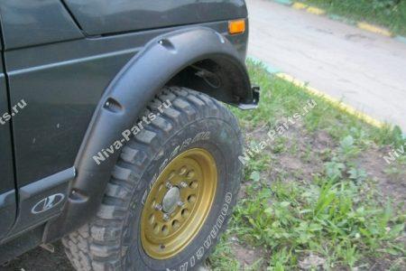 Расширители арок колес LLDPE Lapter 2131