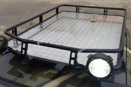 Экспедиционный багажник с листом Chevrolet Niva