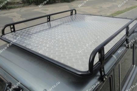 Экспедиционный багажник 21214 с площадкой (для перевозки лодок)