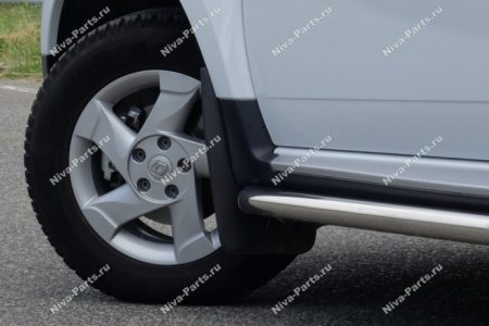 Брызговики передние увеличенные для Renault Duster, Nissan Terrano