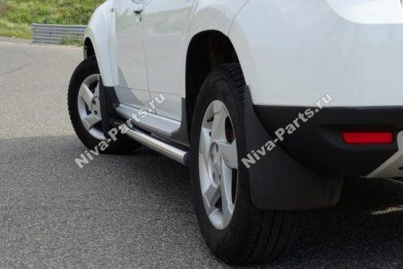 Брызговики задние увеличенные для Renault Duster