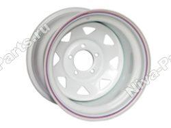 Диск штампованный стальной R15 (белый)