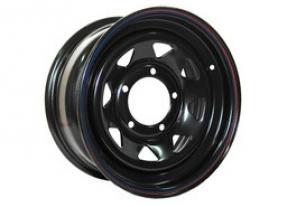 Диск штампованный стальной R16 (черный)