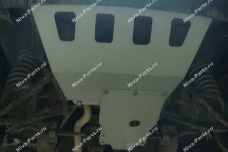 Защита Двигателя и редуктора переднего моста Chevrolet Niva